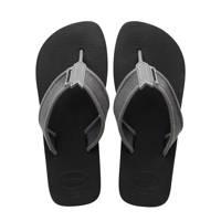 Havaianas Urban Basic  teenslippers grijs/zwart, Grijs/zwart