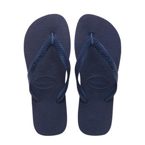 Top  teenslippers donkerblauw