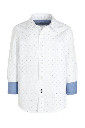 overhemd met all over print wit