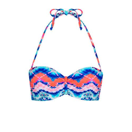 Venice Beach strapless bandeau bikinitop met all o