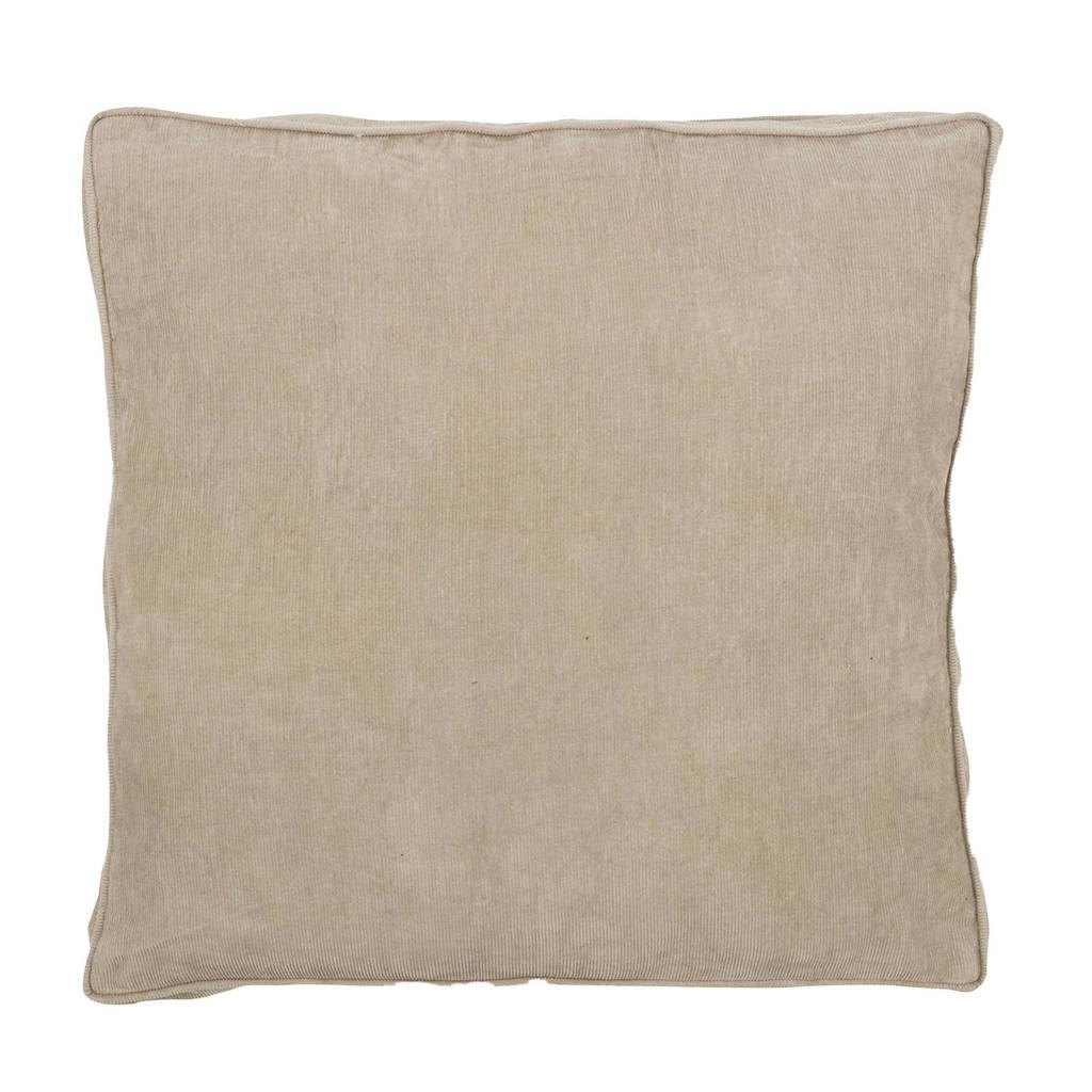 vtwonen sierkussen Rib Cord (50x50 cm), Zand