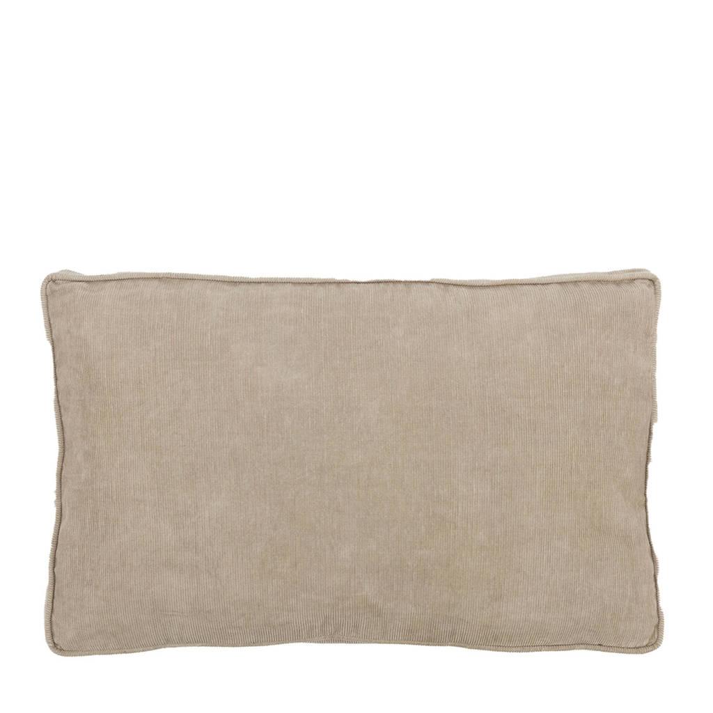 vtwonen sierkussen Rib Cord (30x50 cm), Zand