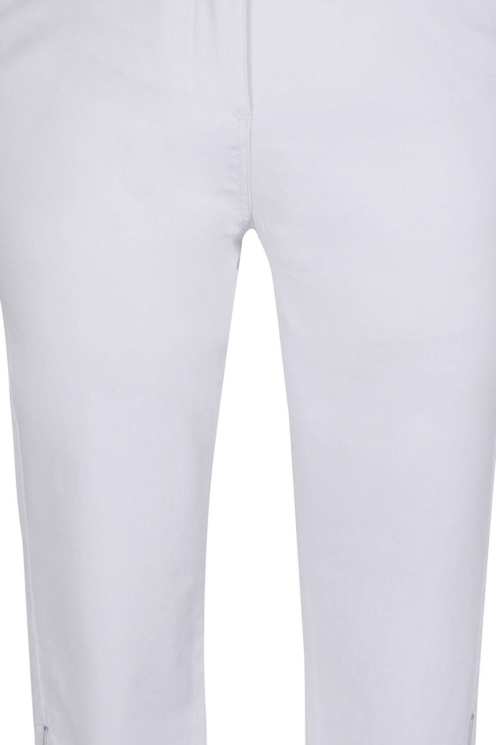 Zhenzi slim fit capri wit, Wit