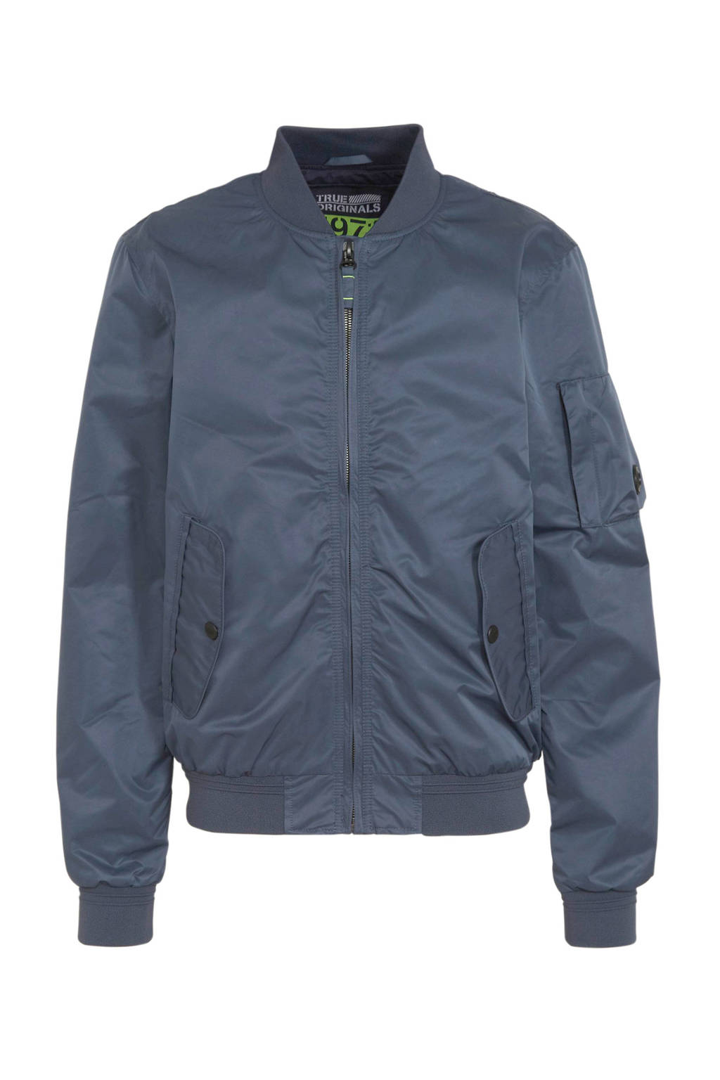 C&A Angelo Litrico zomerjas donkerblauw, Donkerblauw