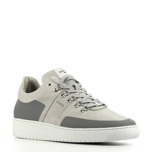 Nubikk Yeye Hazel nubuck sneakers grijs