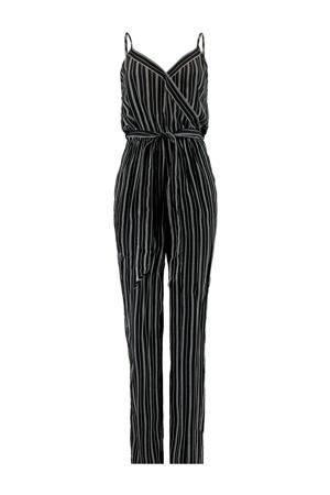 jumpsuit Pamela met all over print zwart