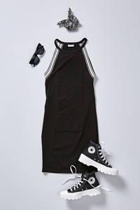 Sarlini scrunchie - set van 3 zwart/wit, Zwart/wit