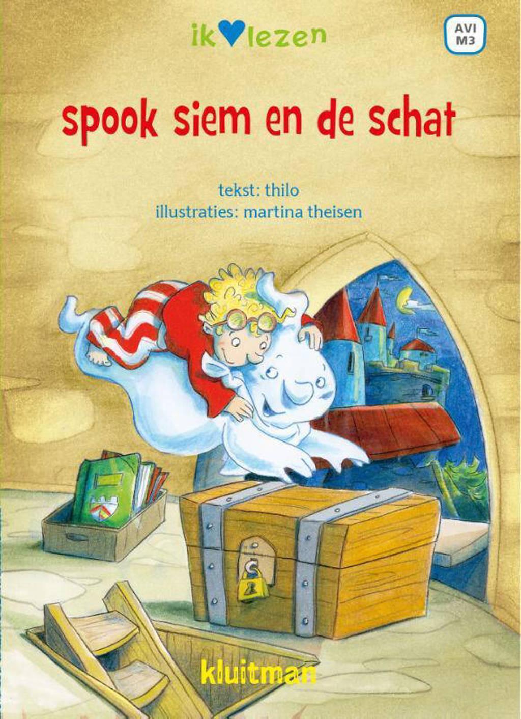 Ik ♥ lezen: Spook Siem en de schat - THiLO