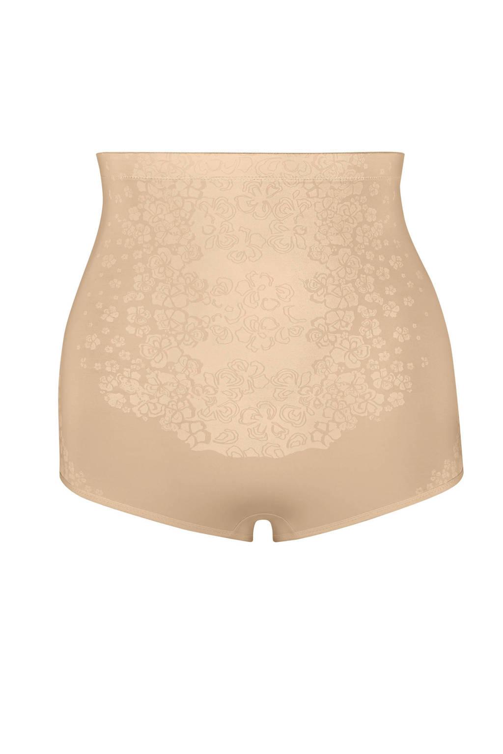 Maidenform high waist corrigerende slip FitSense beige, Beige