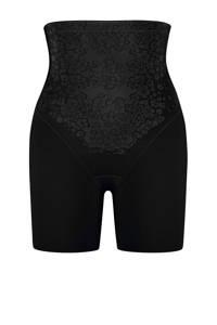 Maidenform high waist corrigerende short Thigh Slimmer zwart, Zwart
