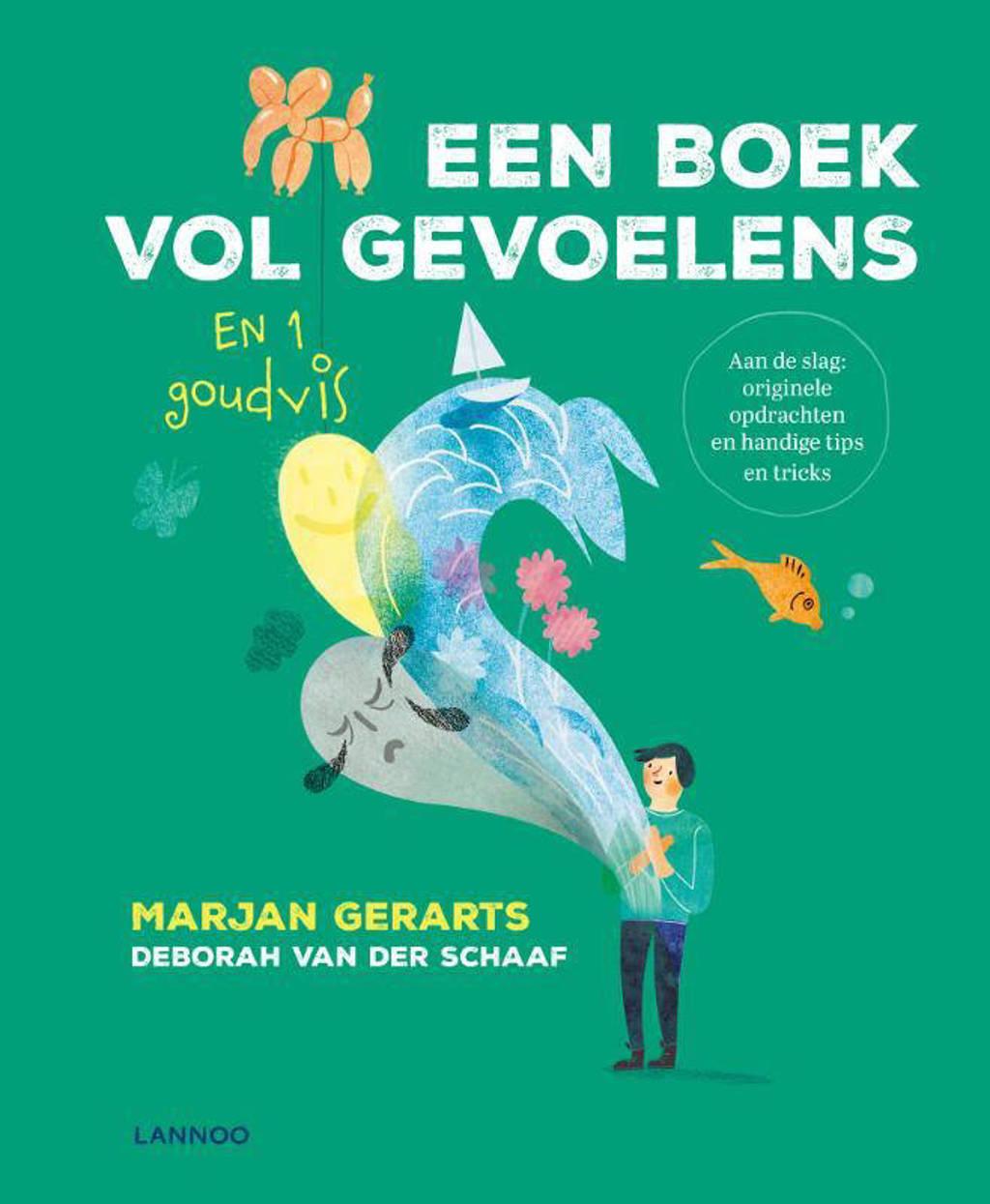 Een boek vol gevoelens en 1 goudvis - Marjan Gerarts en Deborah van der Schaaf