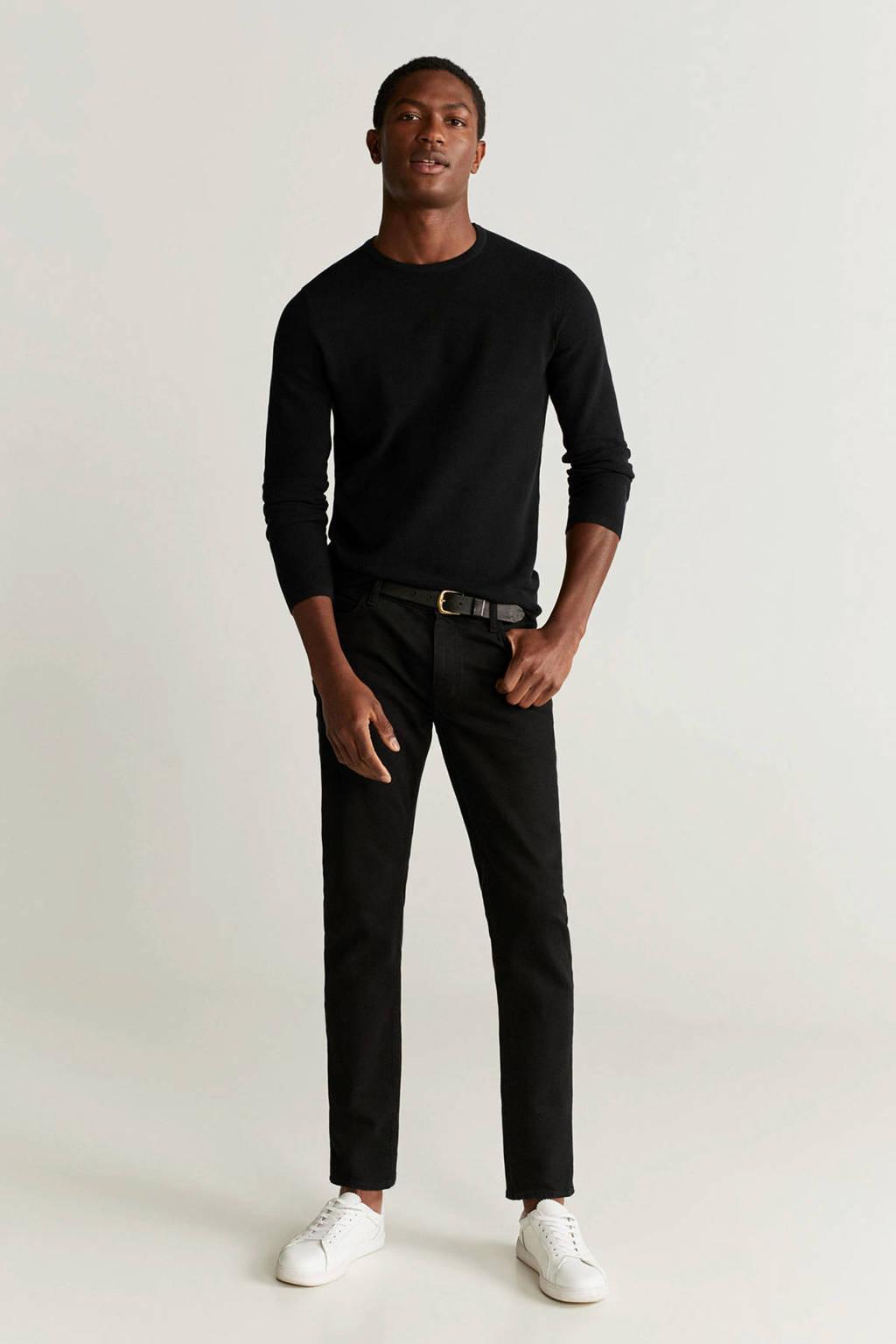 Mango Man trui zwart, Zwart