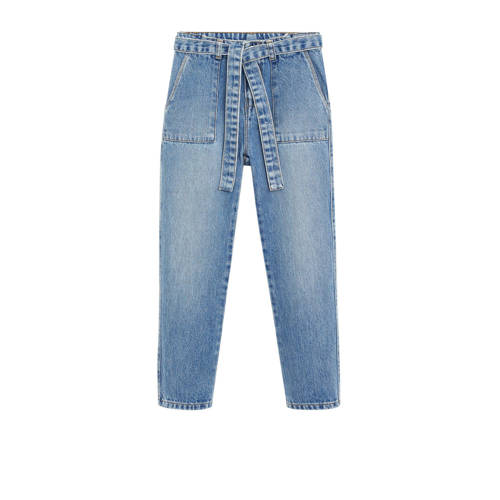 Mango Kids loose fit jeans stonewashed