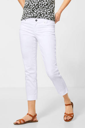 cropped slim fit broek Yulius wit