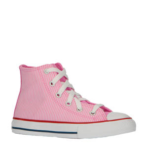 Chuck Taylor All Star Hi sneakers roze/wit