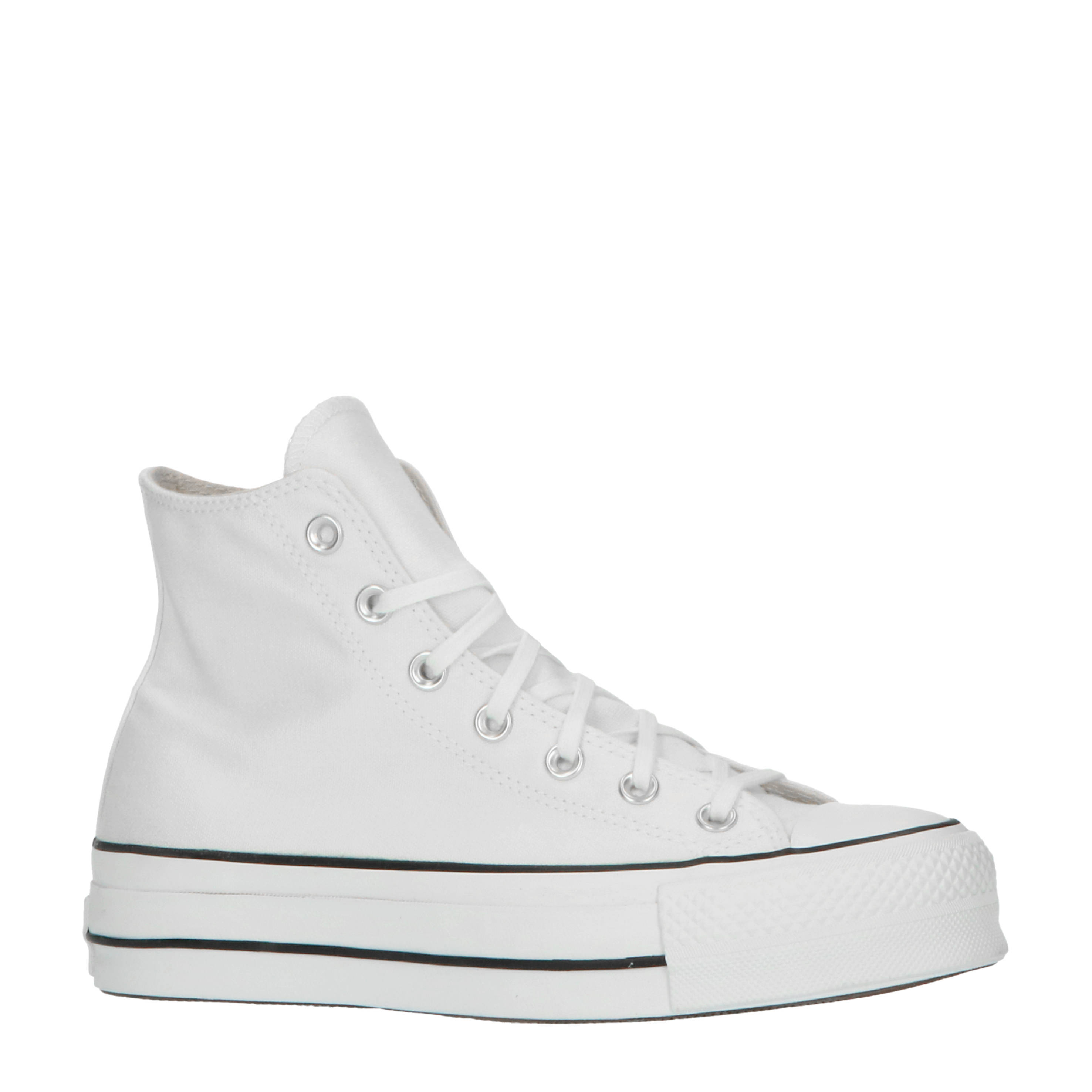 Chuck Taylor All Star Lift Hi plateau sneakers wit