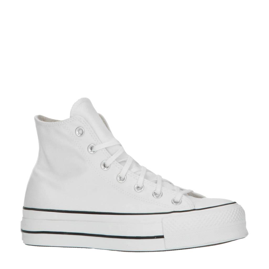 Converse Chuck Taylor All Star Lift Hi sneakers  wit/zwart, Wit/zwart