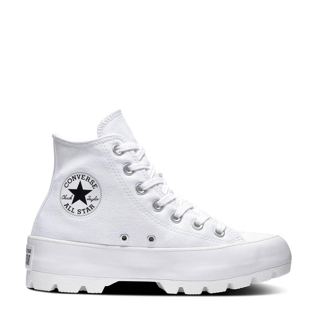 Converse Chuck Taylor All Star Lugged Hi sneakers wit, Wit