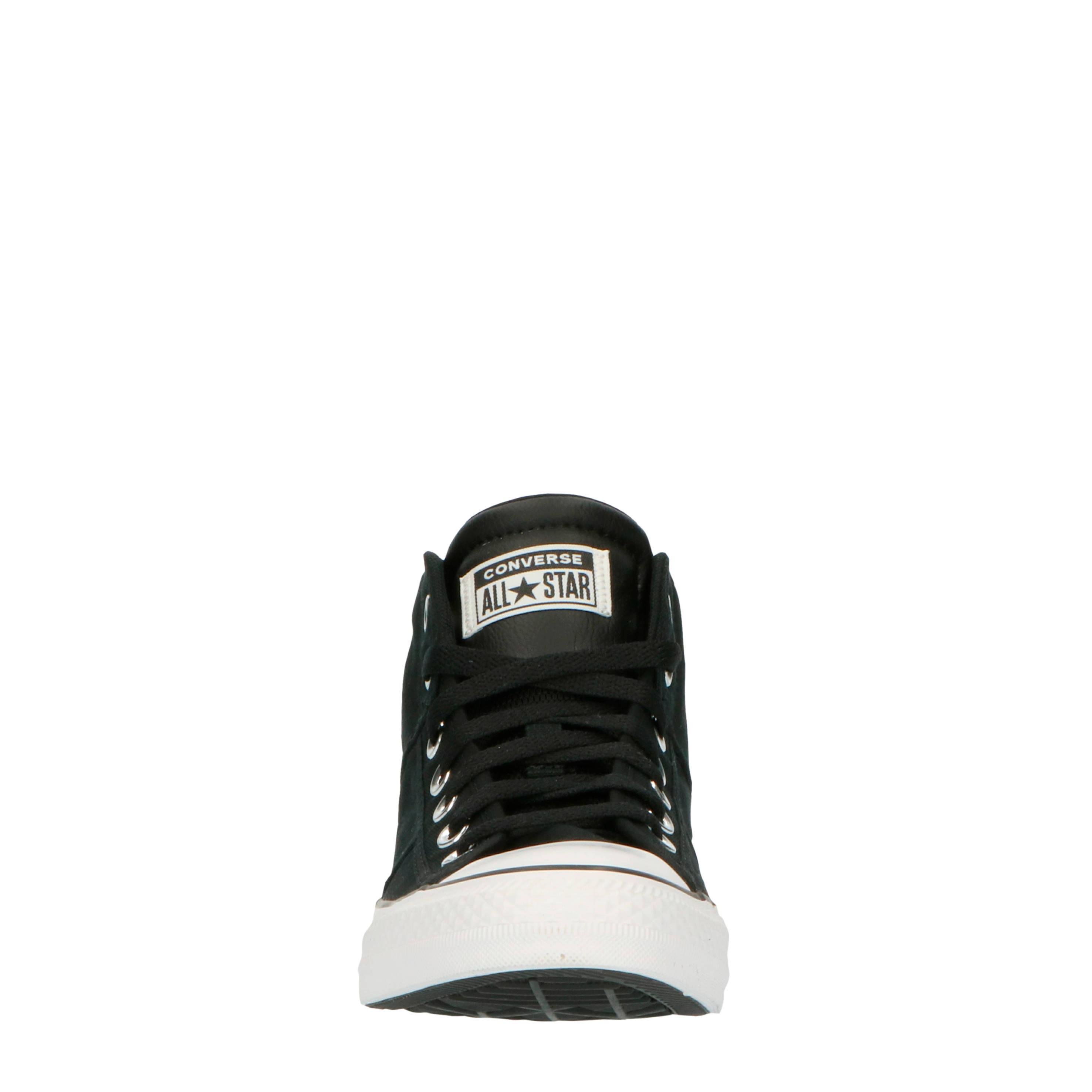 Converse Chuck Taylor All Star CS Mid sneakers zwartwit
