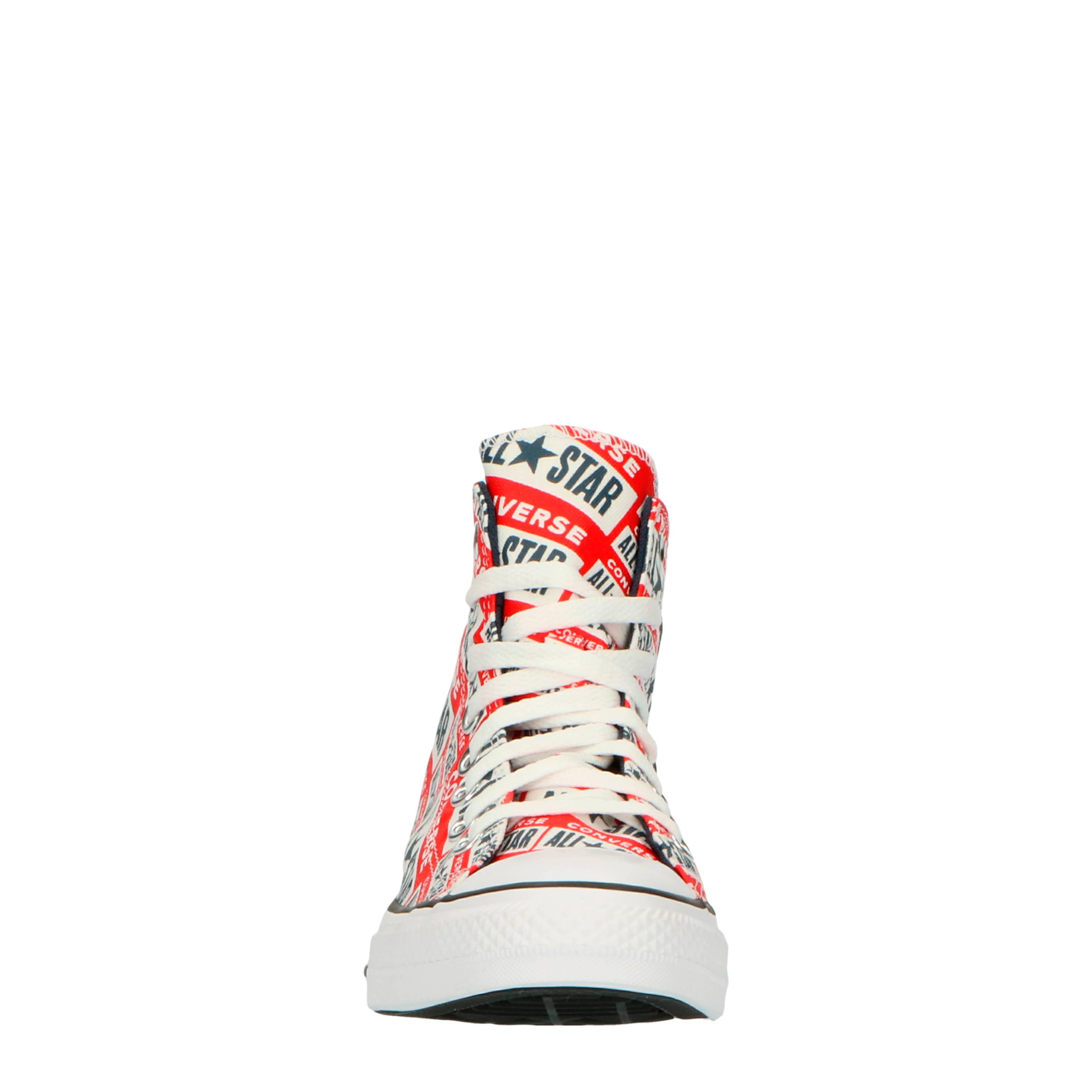 Converse Chuck Taylor All Star Hi sneakers met logoprint