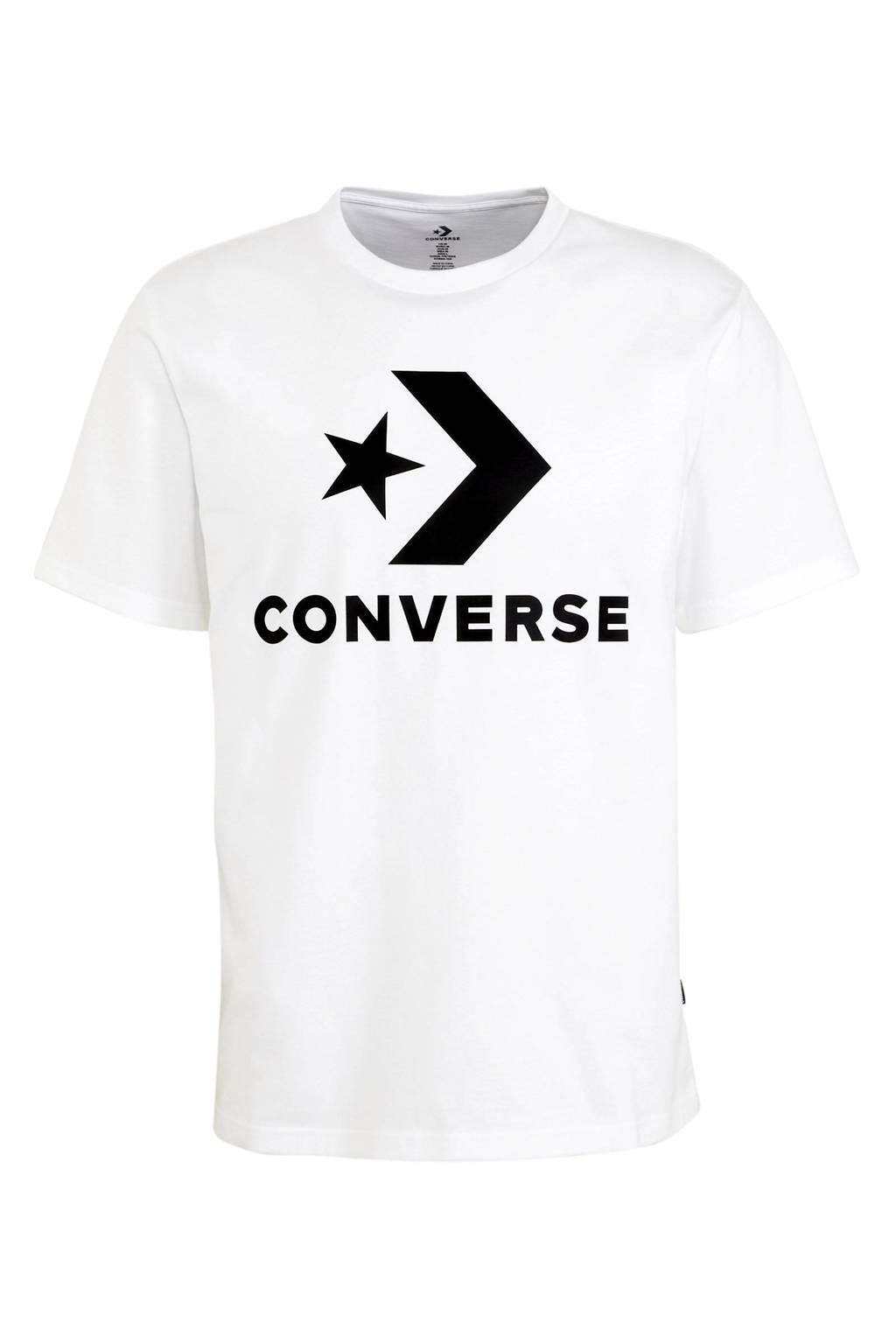 Converse   T-shirt wit, Wit