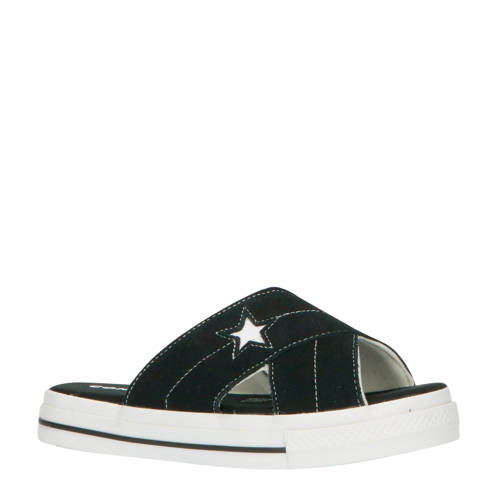 Converse One Star Sandel Slip su??de slippers zwar