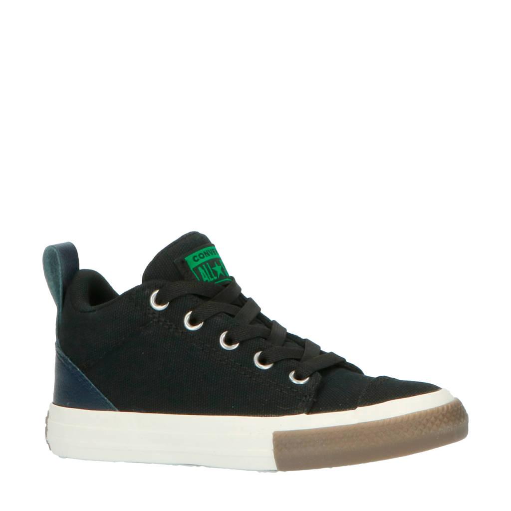 Converse Chuck Taylor All Star Ollie Mid sneakers zwart/groen, Zwart/groen