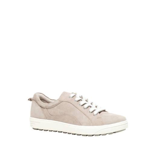 Jana comfort leren sneakers beige