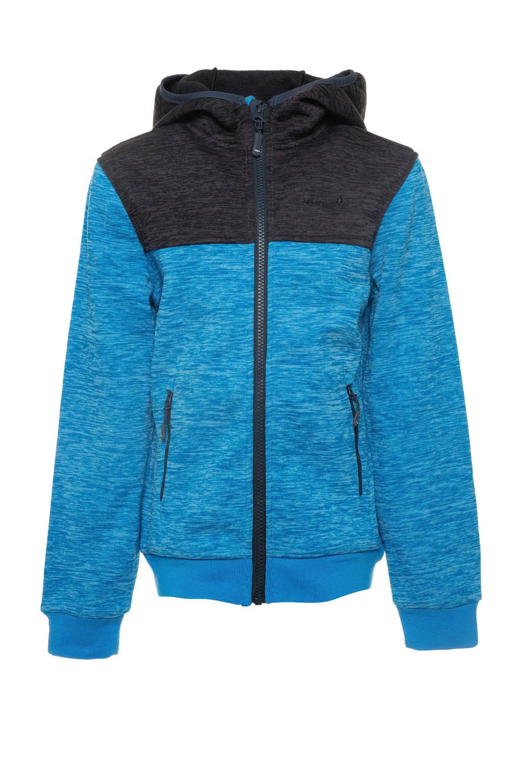 Scapino Mountain Peak outdoor vest blauw/antraciet, Blauw/antraciet