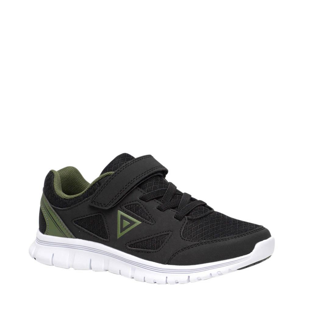 Scapino Osaga   sportschoenen zwart/groen, Zwart/groen