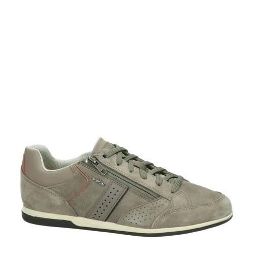 Geox Renan su??de sneakers taupe