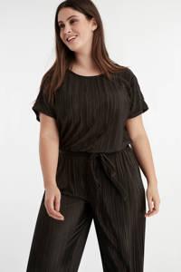 MS Mode jumpsuit zwart, Zwart