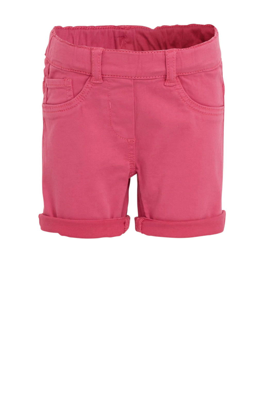 s.Oliver short met borduursels roze, Roze