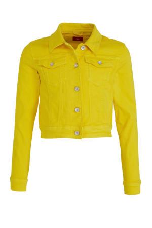spijkerjas geel