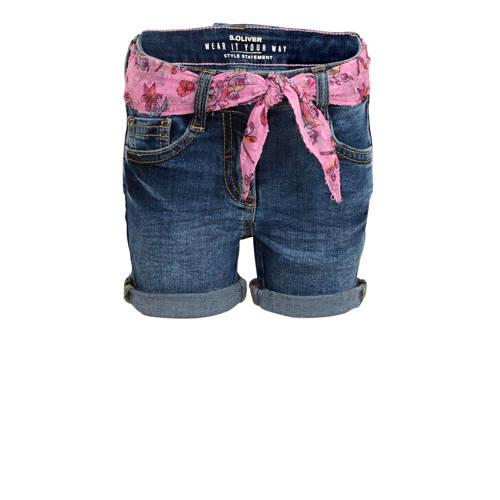 s.Oliver jeans short stonewashed
