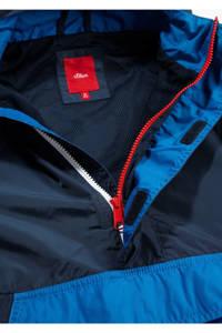 s.Oliver zomerjas donkerblauw/blauw/wit, Donkerblauw/blauw/wit