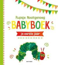 Rupsje Nooitgenoeg Babyboek - Eric Carle