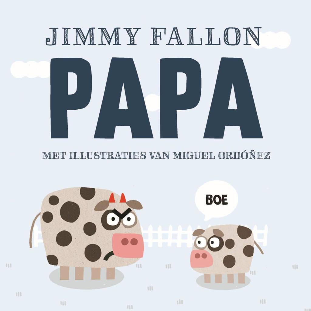 Papa - Jimmy Fallon en Miguel Ordonez