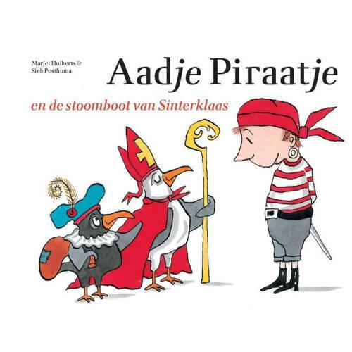 Aadje Piraatje: Aadje Piraatje en de stoomboot van Sinterklaas - Marjet Huiberts