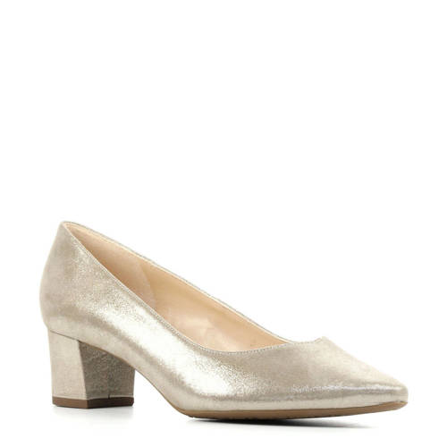 Peter Kaiser plus 41511 leren pumps goud