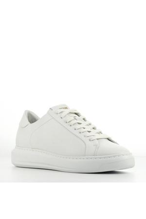 TW90  leren sneakers wit