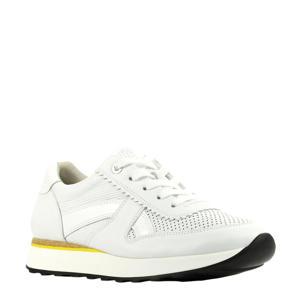 4918  leren sneakers wit