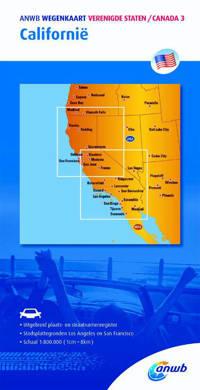 ANWB wegenkaart: ANWB wegenkaart Verenigde staten/Canada 3. Californië - ANWB