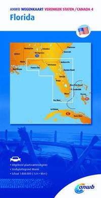ANWB wegenkaart: Verenigde Staten/Canada 4 Florida - ANWB
