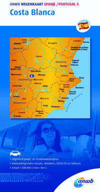 ANWB wegenkaart: Costa Blanca