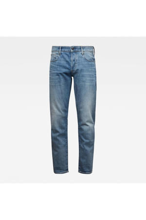 3301 straight tapered fit jeans lt indigo aged