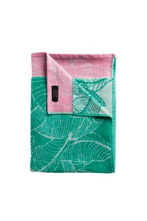 strandlaken Fresh Mint (100x180 cm) Groen/roze