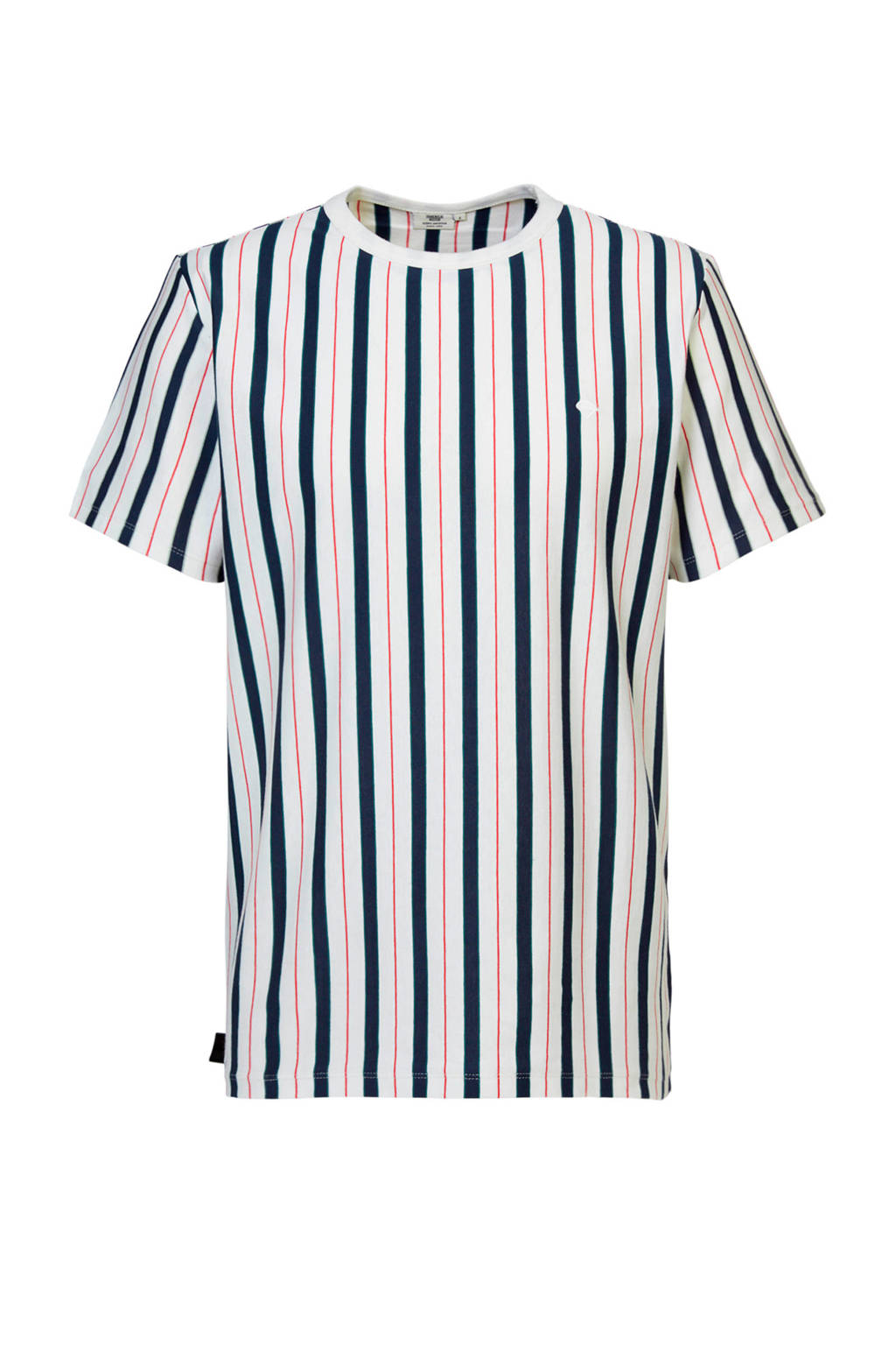 America Today gestreept T-shirt off white, Off White
