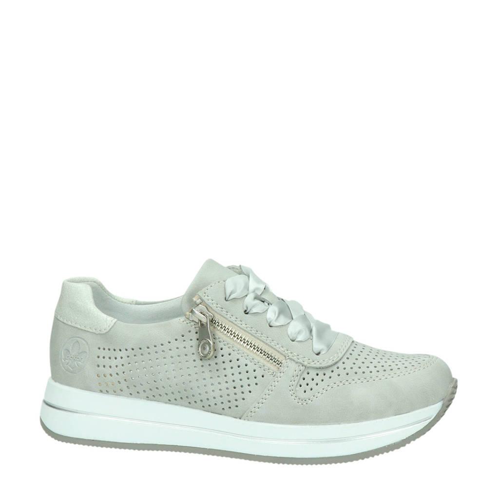 Rieker   sneakers grijs/zilver, Grijs