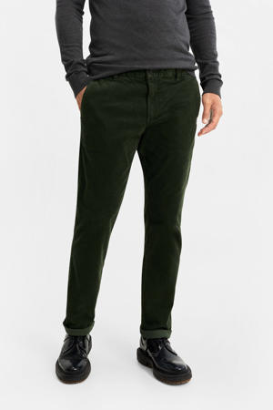 slim fit chino deep green
